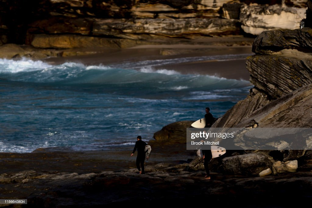 Large Swell Hits Sydney Beaches : News Photo