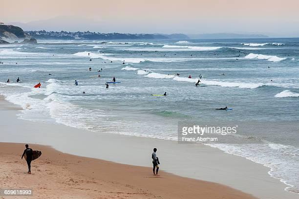 Surfers beach, Biarritz