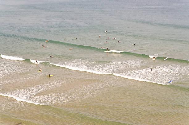 Surfers, Biarritz, Aquitaine, France