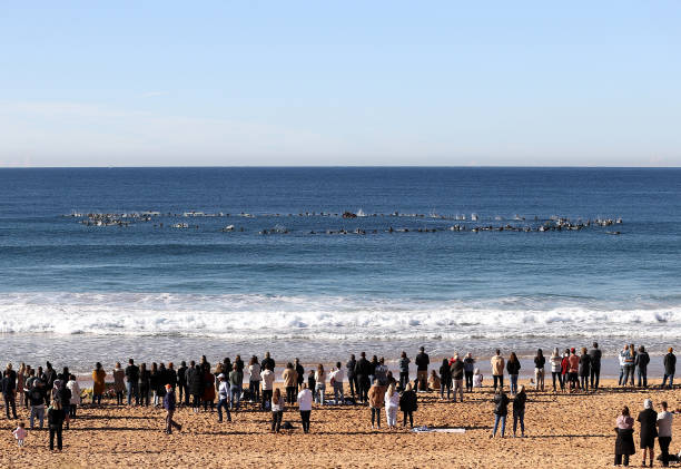 AUS: Surfers Gather In Sydney To Remember Alex 'Chumpy' Pullin