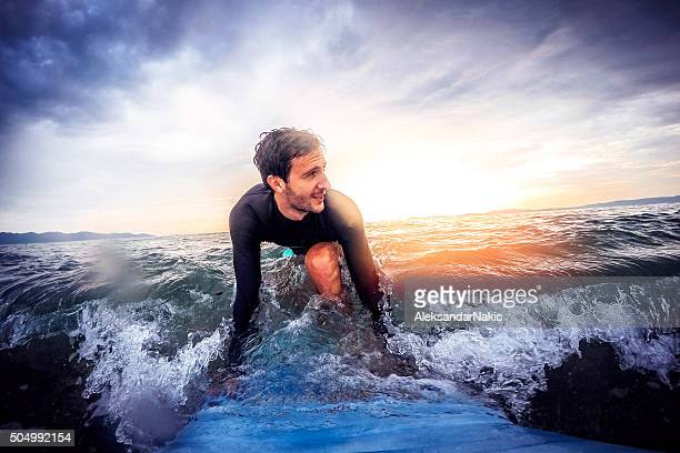 surfer's joy - extreme sports stock pictures, royalty-free photos & images