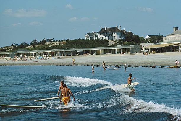 Rhode Island Surfers Wall Art