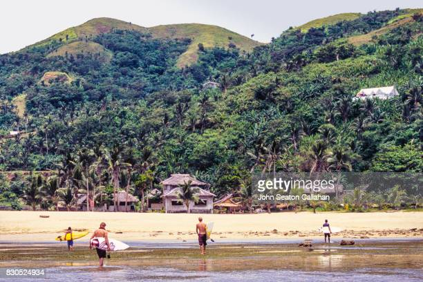 Surfers on Catanduanes Island