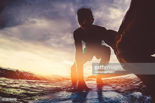 Surfer's selfie