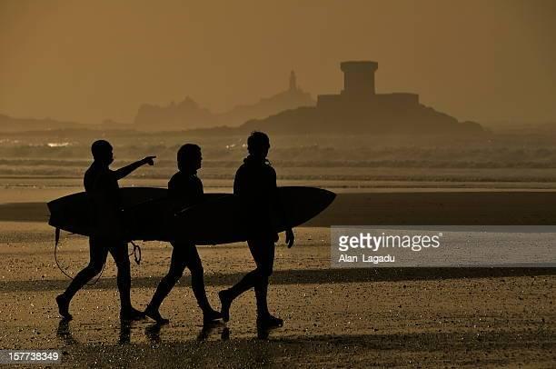 Surfin' St.Ouen, Jersey.