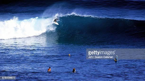Surfing at St Leu