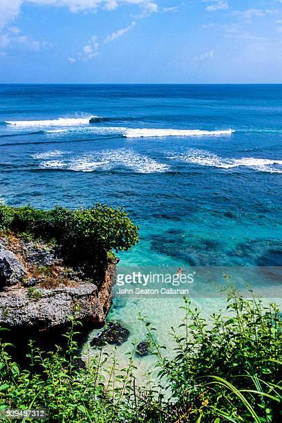Surfing at Uluwatu