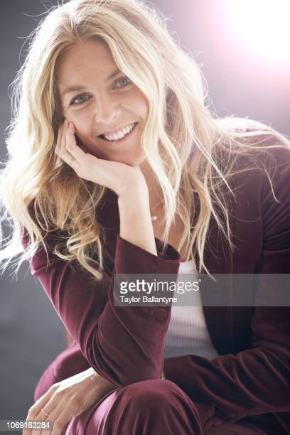 Closeup portrait of seventime Women's ASP World Tour champion Stephanie Gilmore posing during photo shoot at Meredith Studios New York NY CREDIT...