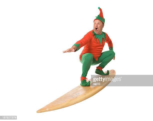 Surfing Elf