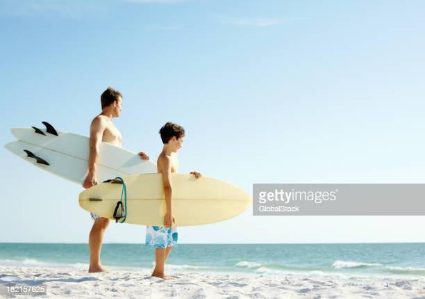 Surf pai e filho