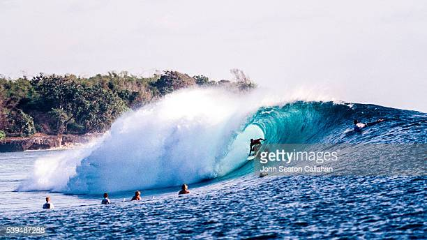 Surfing in East Java