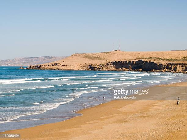 surfing in north africa - agadir stock pictures, royalty-free photos & images
