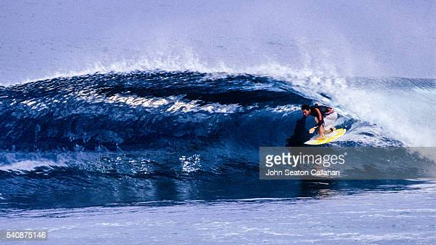 Surfing in Simulue Island