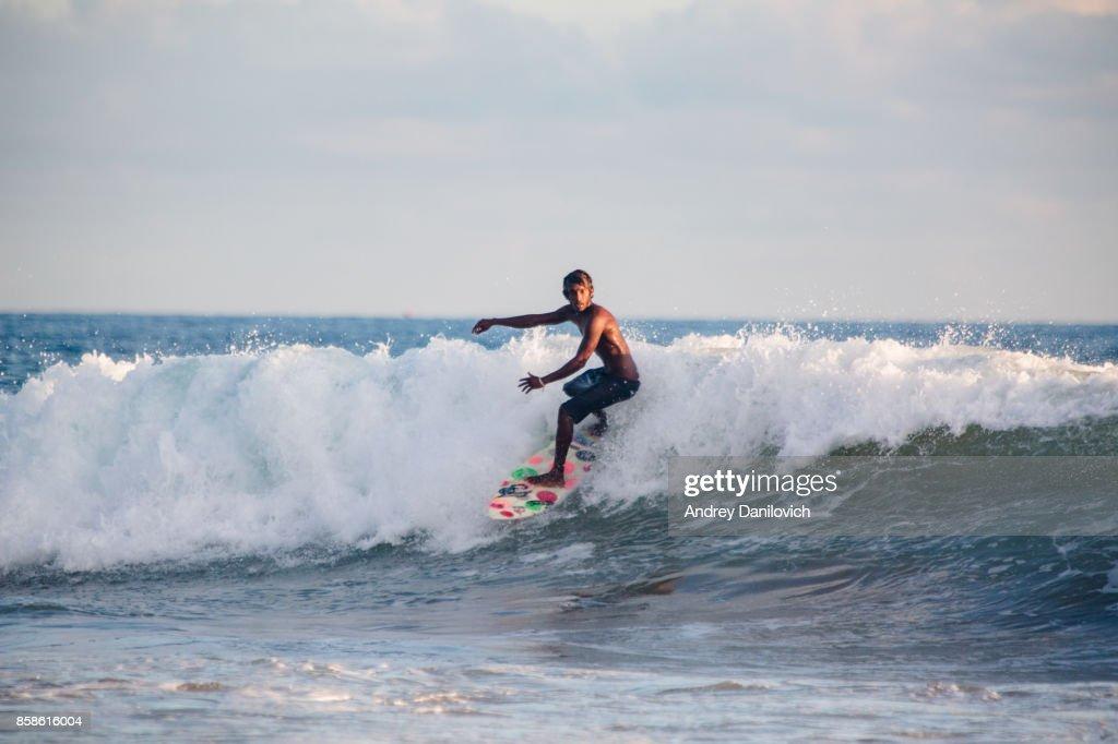 Surfen in Sri Lanka : Stock-Foto