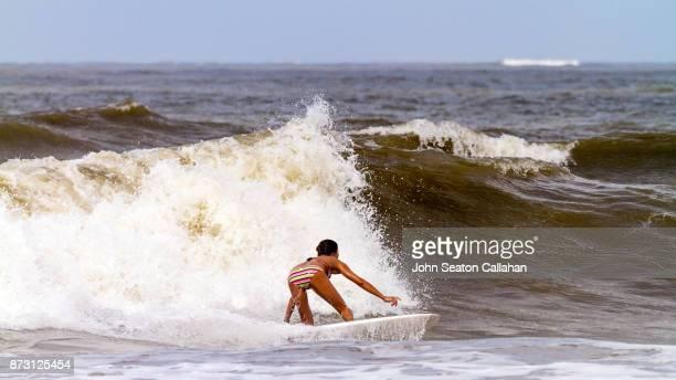 Surfing in the Arabian Sea