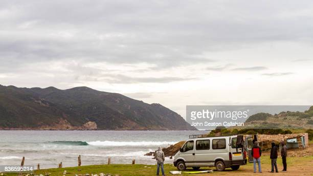 surfing in the mediterranean sea - annaba algeria stock pictures, royalty-free photos & images