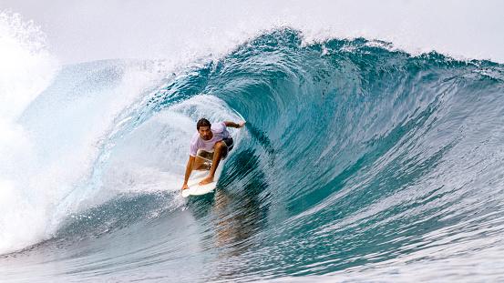 Surfing in the Mentawai Islands - gettyimageskorea