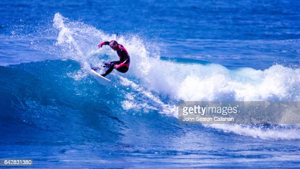 surfing in the north atlantic ocean - agadir stock pictures, royalty-free photos & images