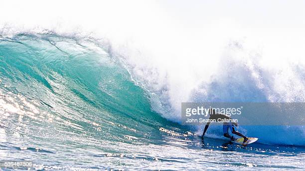 surfing in the savu sea - east nusa tenggara stock pictures, royalty-free photos & images