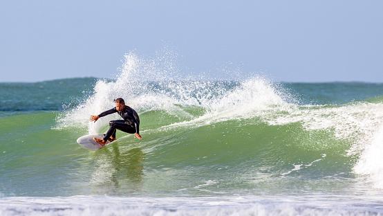 Surfing in Western Sahara - gettyimageskorea
