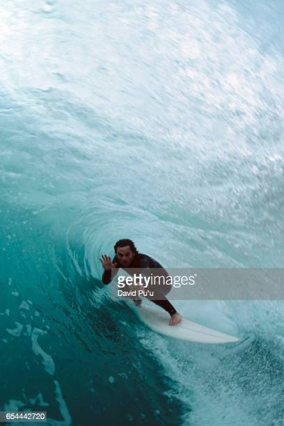 Surfing Large Wave