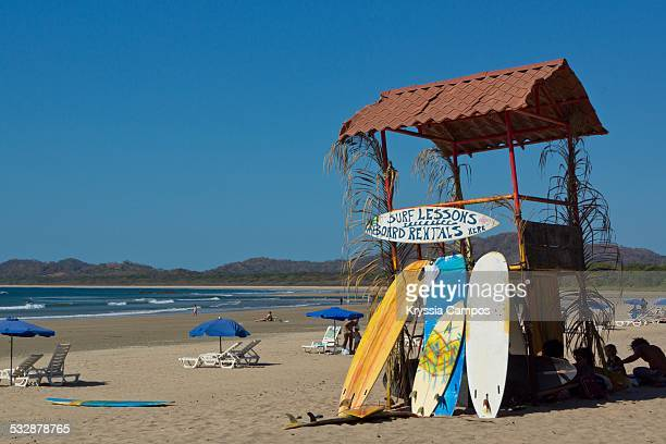 Surfing lifestyle surf school on Playa Tamarindo Guanacaste Costa Rica