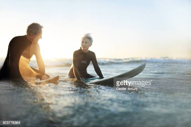 Surfing makes them feel young again