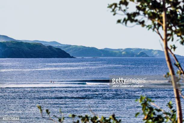 Surfing on Catanduanes Island