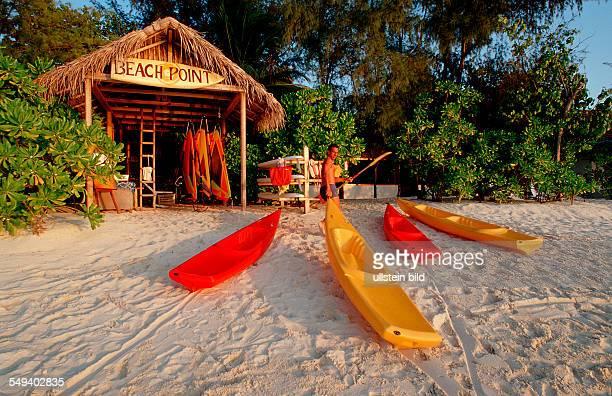 Surfing school at a maldive Tourist Resort Maldive Islands Maldives Maldives Islands Indian Ozean Ari Atol Maayafushi