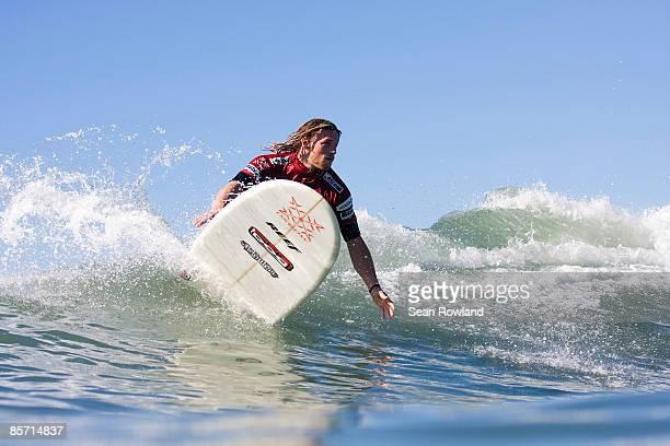 Surfing Thursday November 6th 2008 ASP Oxbow World Longboarding Tour November 5th9th San Onofre State Beach San Clemente CA USA Ben Skinner won his...