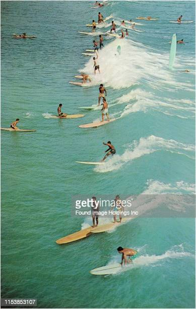 Surfing with Longboards
