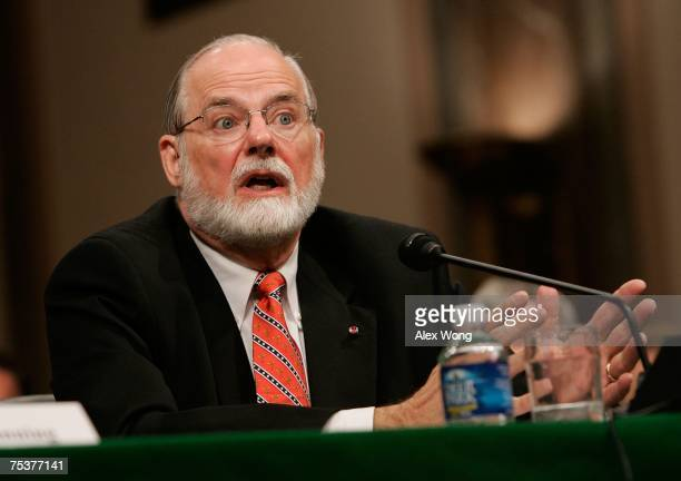 Surgeon General nominee James Holsinger testifies during his confirmation hearing before the Senate Health, Education, Labor and Pensions Committee...