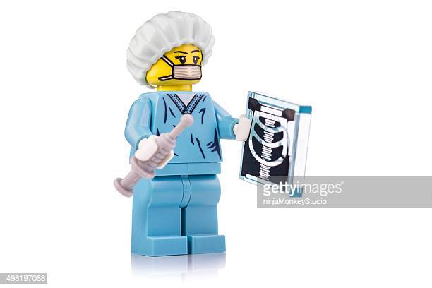 Chirurgien Lego Mini-robe