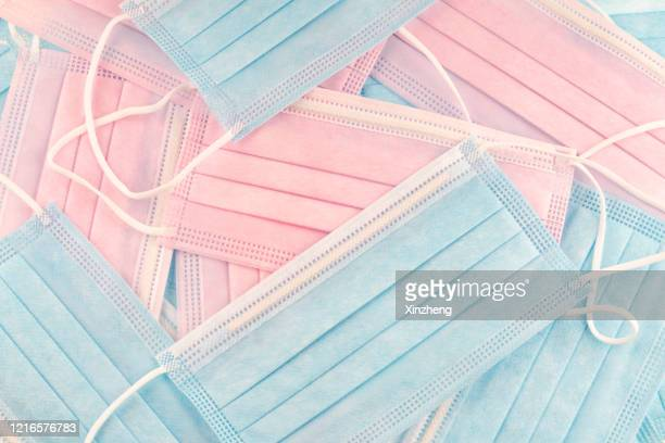 surgical mask - heap stock pictures, royalty-free photos & images