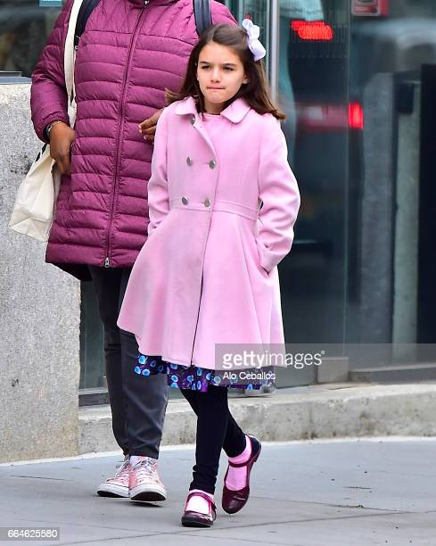 Suri Cruise is seen in the Meat Packing District on April 4 2017 in New York City