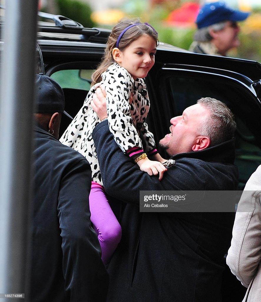 Celebrity Sightings In New York City - November 2, 2012 : News Photo