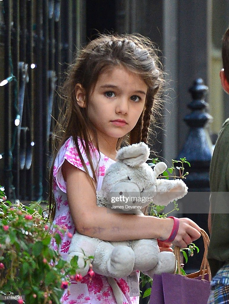 Katie Holmes and Suri Cruise Sighting In New York City - July 5, 2012