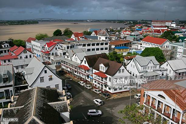 Suriname, Paramaribo, The historic inner city.