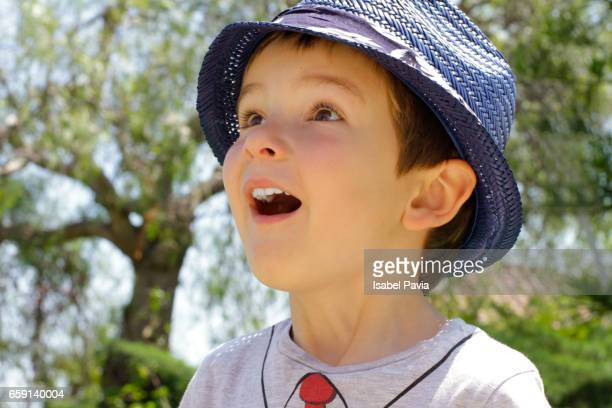 Surprised boy (4 years)