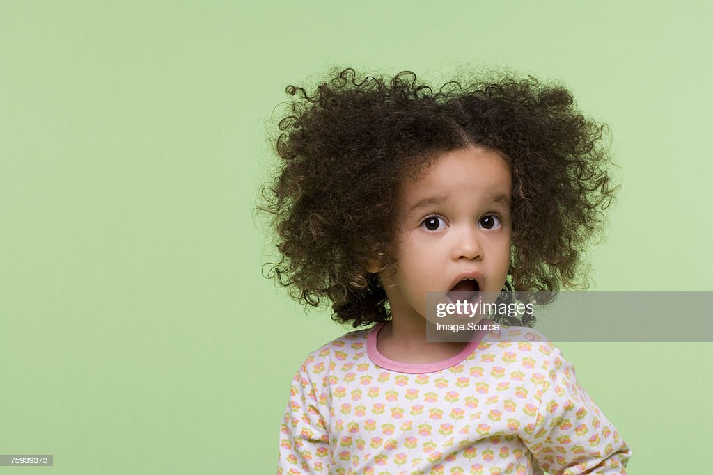 Surprised girl : Stock Photo