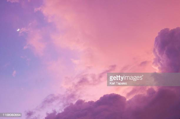surreal cloudscape - ethereal stock pictures, royalty-free photos & images