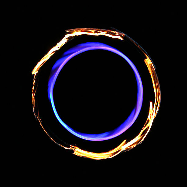 Surreal Infinity Flame Fire Circle