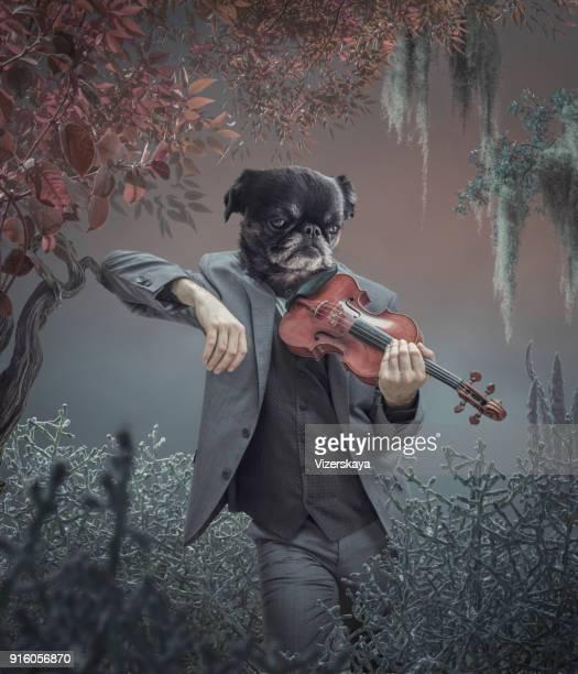 犬の現実的な肖像画