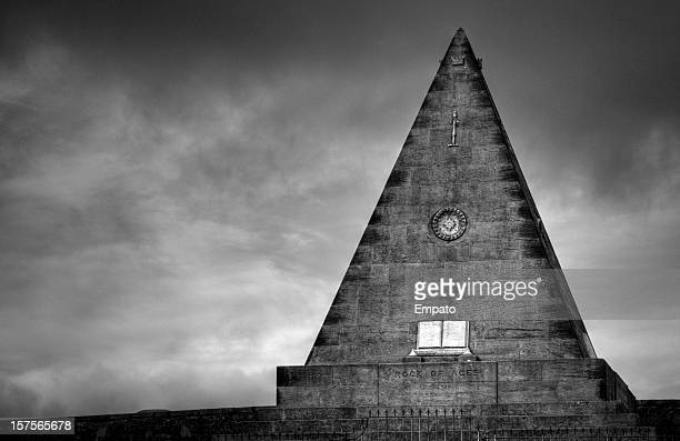Surreal Pyramid, Valley Cemetry, Stirling, Scotland.