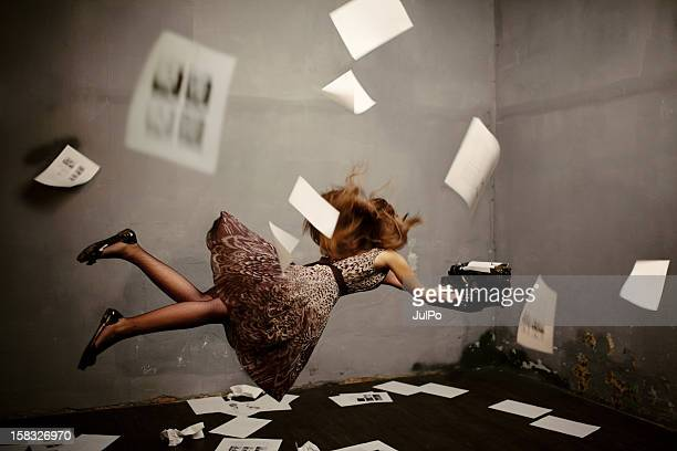surreal writer - authors stock photos and pictures