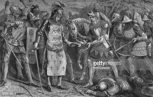 Surrender of the King of France at Poitiers' September 1356 John II also known as John the Good was a monarch of the House of Valois who ruled as...