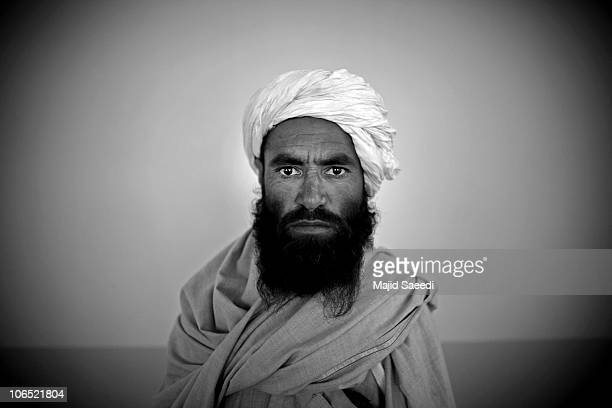Surrendering Taliban militants are presented to the media while being held for safety in a mosque belonging the NDS on November 4, 2010 in Herat,...