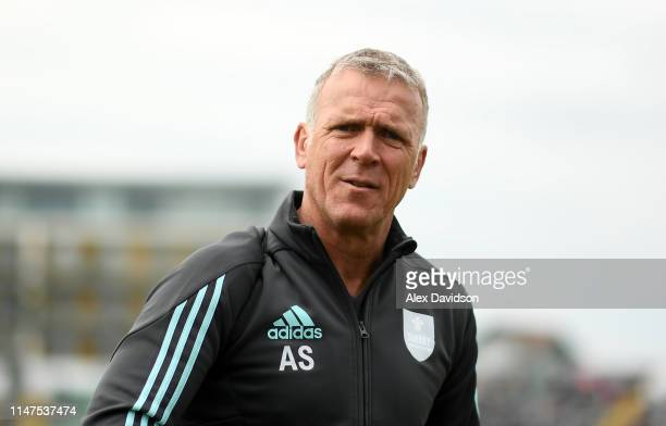 Surrey Director of Cricket Alec Stewart looks on during the Royal London One Day Cup match between Somerset and Surrey at The Cooper Associates...