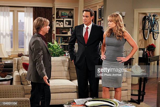 Surrogate Audrey and Jeff discover surprising news about their surrogate which involves Russell on the fifth season premiere of RULES OF ENGAGEMENT...