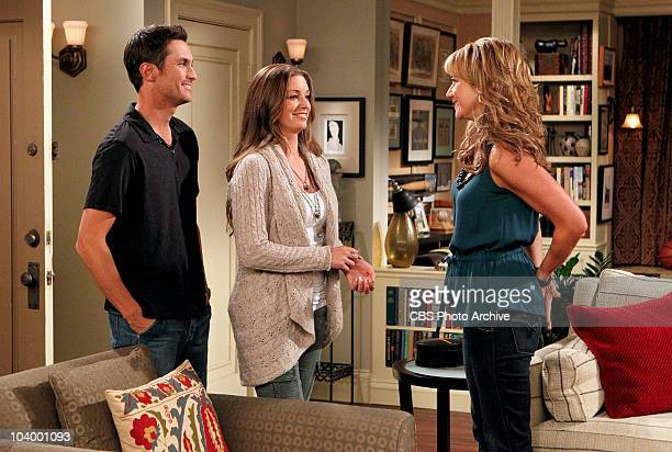 Surrogate Audrey tells Jenn and Adam that she's discovered surprising news about their surrogate on the fifth season premiere of RULES OF ENGAGEMENT...
